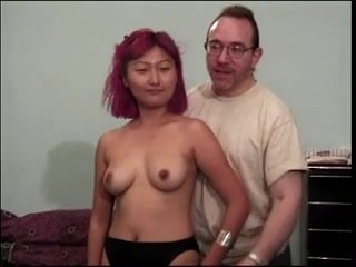 second crazy chinese girl makes porn casting with old ed