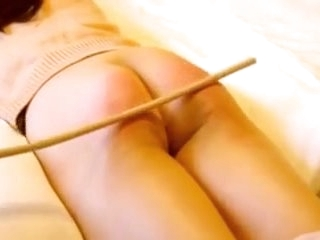 Chinese girl caning