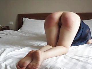 Chinese Slut Spanked For Smoking