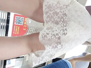 China Airport Upskirt 40