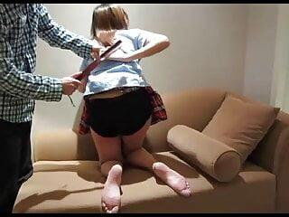 Girl who loves spanking 10