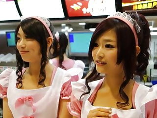 Cute fast food waitresses 2