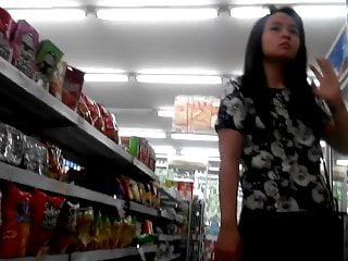 White Panty Teen at Indomaret, Surabaya, Indonesia