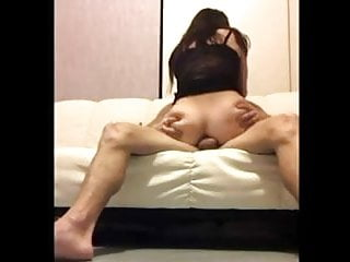Asian Anal with great moan