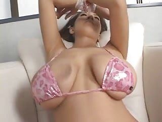 Gorgeous asian with big tits