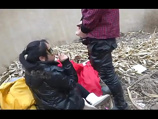 chinese teen in public3