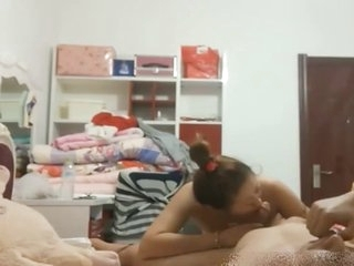 Fucking chinese girlfriend homemade