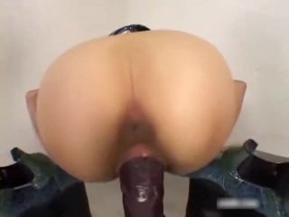 Asian Quivers As She Cums On Huge Dildo asian cumshots asian swallow japanese chinese