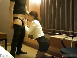 Chinese Office Slut Fucks With Boss
