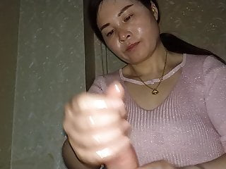 Asian Happy ending massage. Handjob expert 7