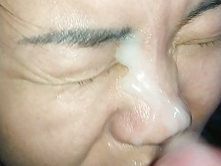 My asian friend again. Really loves to suck cock 8. Facial