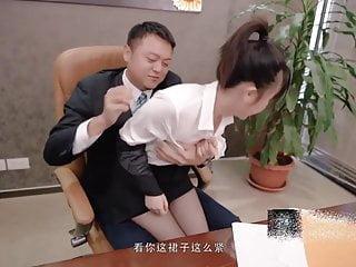 Professional attire, beautiful women please their superiors