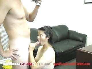 19 yo Asian JayLynn Gets All Holes Fucked Plus Warm Facial!