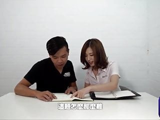 china girl student and her boyfriend