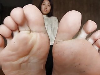Chinese Feet (From Nylons to Barefoot)