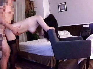 Chinese amateur stockings wife (2 CAMS) 1
