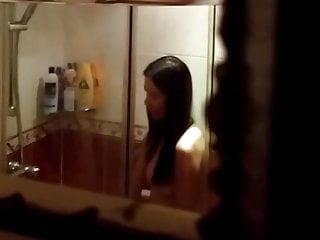 Chinese neighbor shower spy