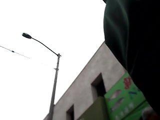 BootyCruise: Black Leggings Up-Ass Cam 3