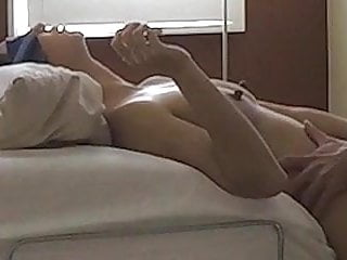 College guy fucking a Chinese milf to a creampie ending